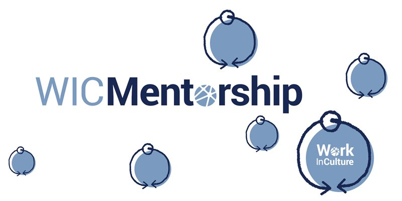 circles with WICMentorship logo